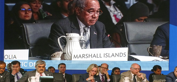 Wase: Help vulnerable islands