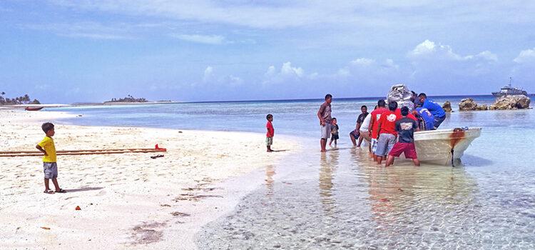 AMI performs engine change on Aur Atoll