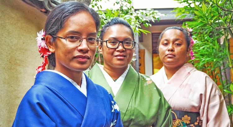 Milañ engages in Japan exchange