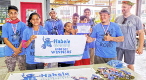 Students from Nanpei Memorial High School were the Pohnpei Robo Day Champions in the first-ever competition held in the FSM capital.