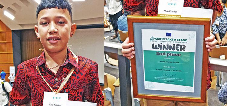 Jilo's video honored in Fiji