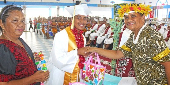 MALGov honors top Majuro students