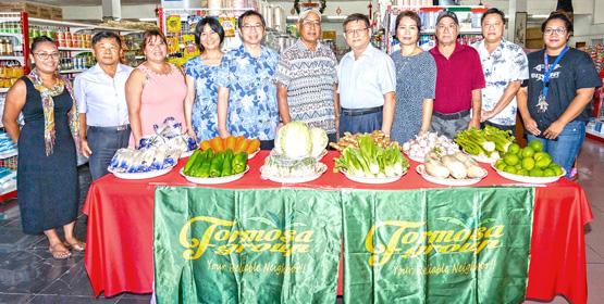 Taiwan veggies arrive in Majuro
