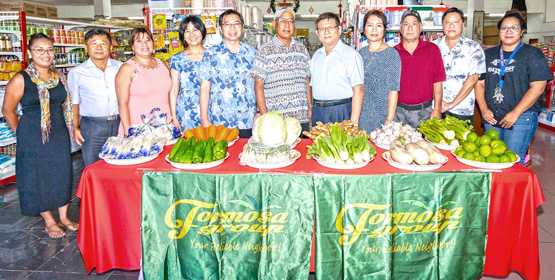 Taiwan veggies arrive in Majuro
