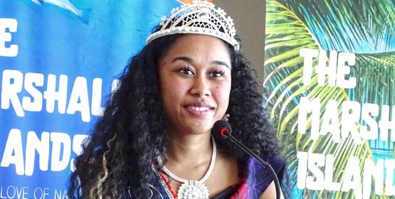 Miss Marshall Islands Billma Peter