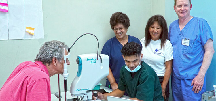 Canvasback treats many eye patients