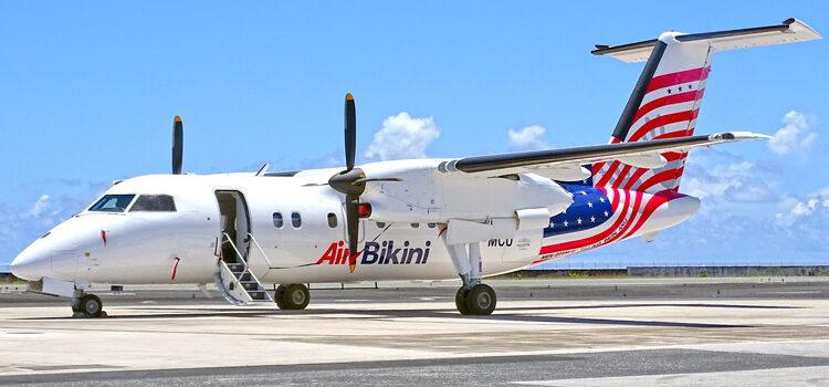 Air Bikini Dash-8 arrives