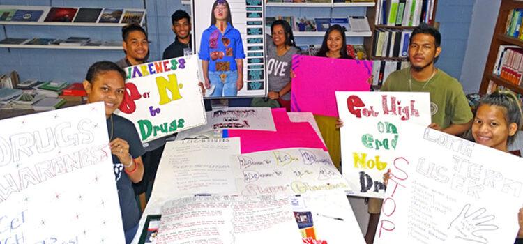 CMI students target drug use