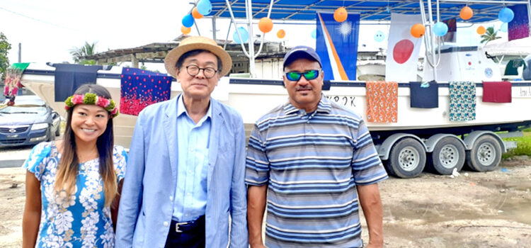 Japan funds Arno's new boat