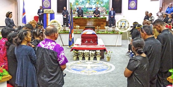 Nidel honored with state funeral