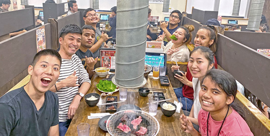 Island ties in Okinawa