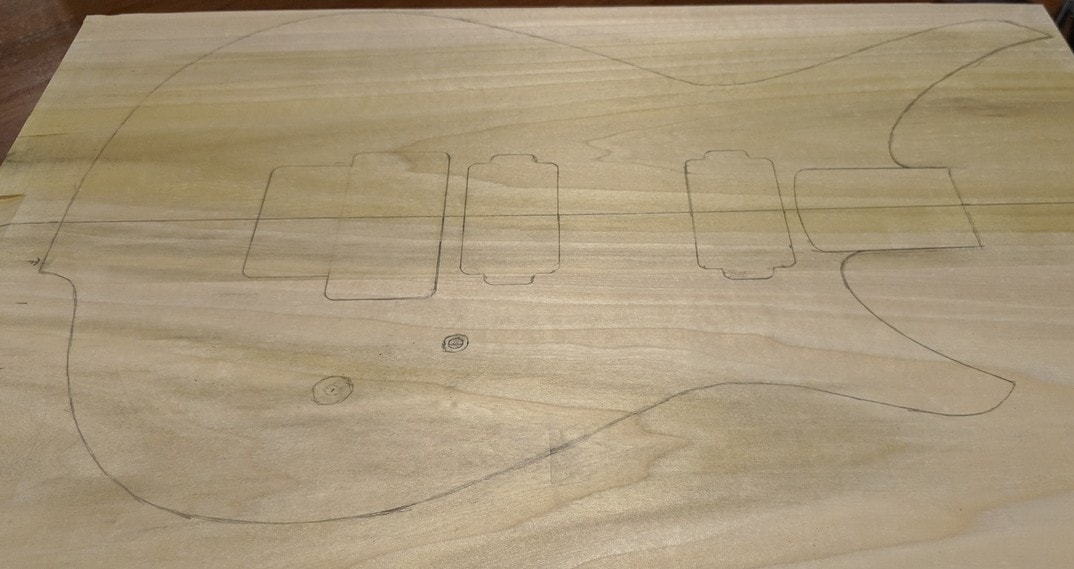 wood layout