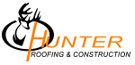 Hunter Roofing and Construction Logo