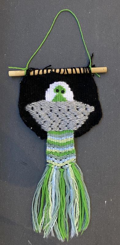 Alien Dude (Weaving)