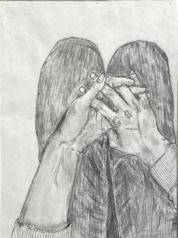 Alone Does Not Mean Lonely (Pencil)