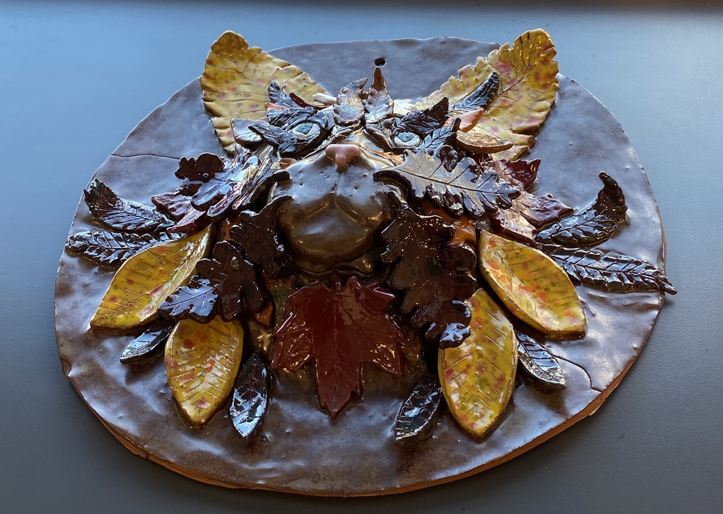 Autumn Cat (Ceramic)