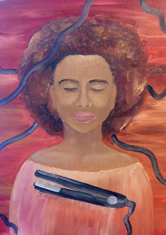 Contemplation (Oil Paint)