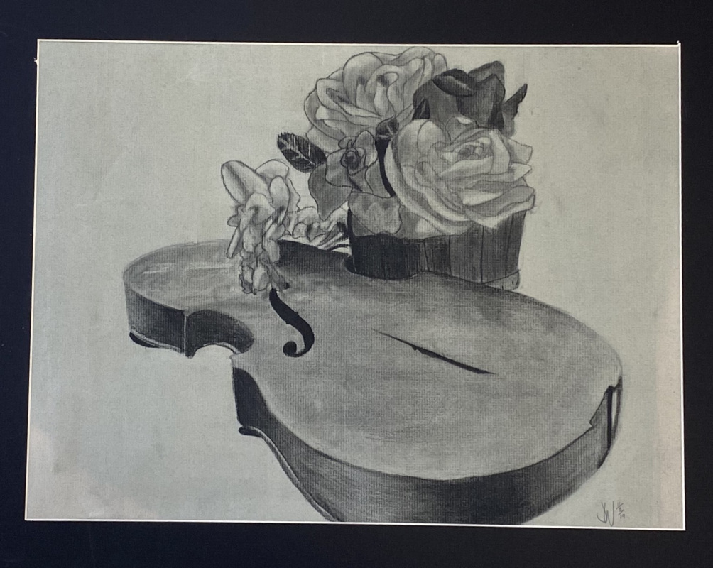 Decaying Symphony (Charcoal)
