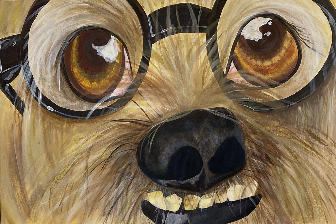 Harry Pupper  (Acrylic)