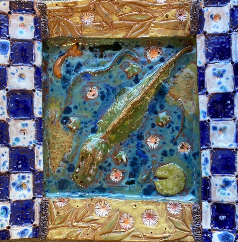 In The Bayou (Ceramic)