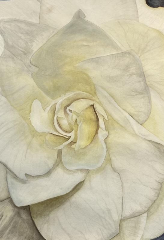 Peaceful Glow (Watercolor)