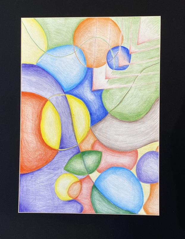 Untitled  (Colored Pencils)