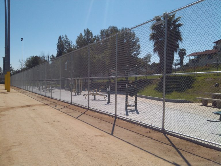 Ballpark Chain Link Fence