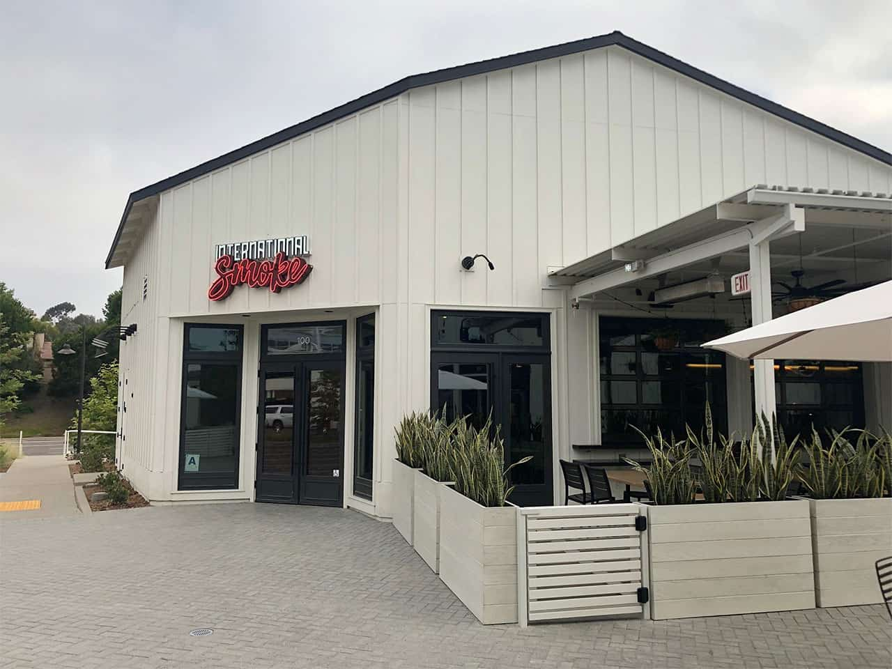 Swing Gates for Internation Smokehouse restaurant - Legend Fence