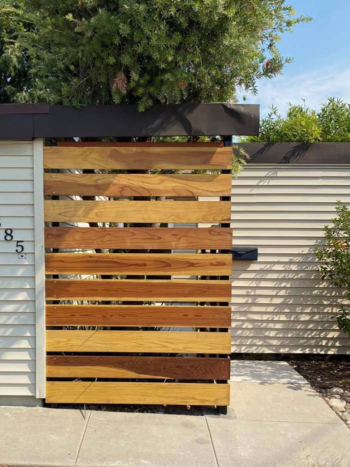 la mesa wood fence gate legend fence corp