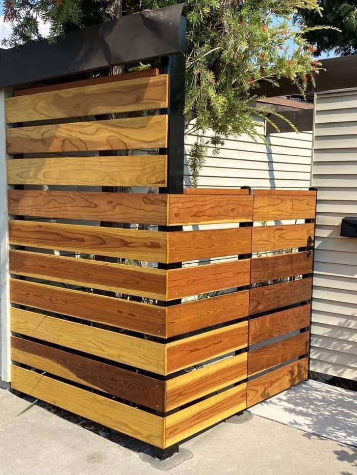 la mesa wood fence gate legend fence corp