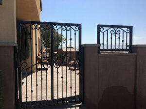 ornamental gate legend fence