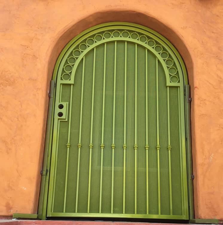 green security door legend fence san diego