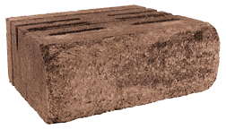 CST weathered finish wall block