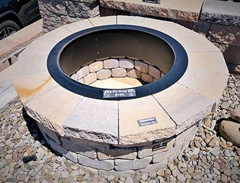Zentro fire pit insert