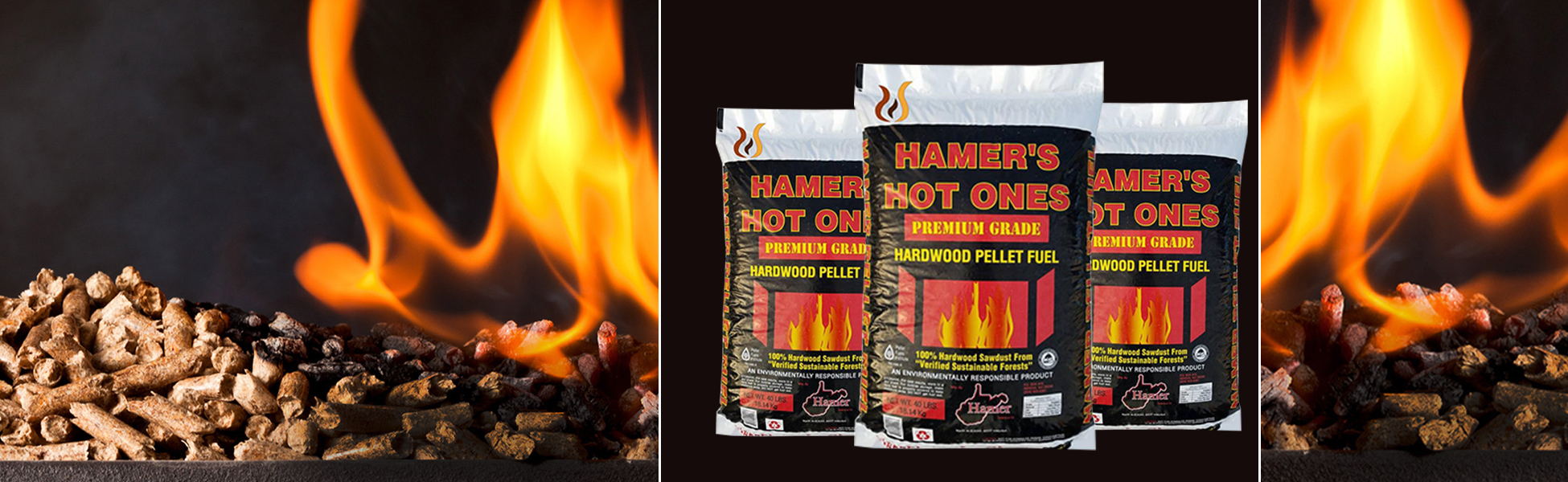 Hamer's wood pellets