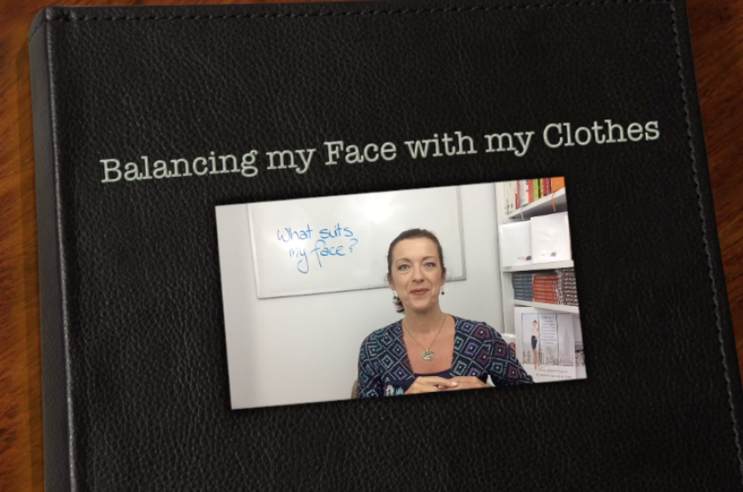 Finding the right balance of your clothing with your face