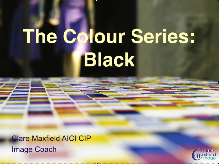 The Colour Series  – Black