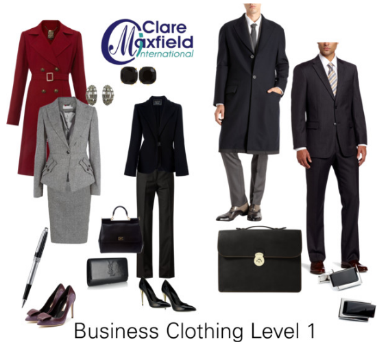 What do business/corporate dress codes mean?