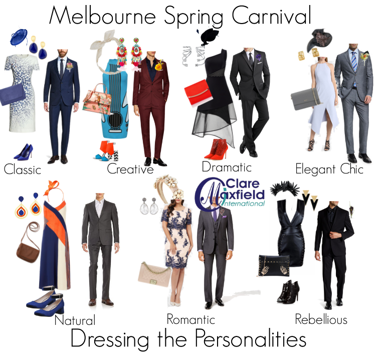 How to Dress Your Personality Style during Spring Carnival in Melbourne in the Members Enclosure.