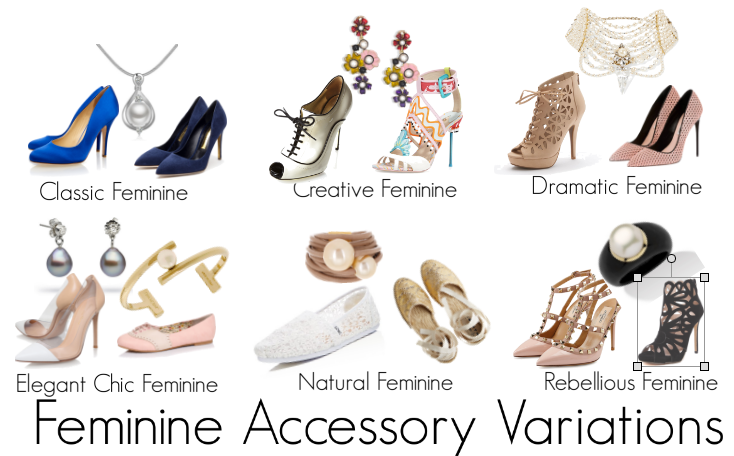 How the Feminine Woman will Accessorise