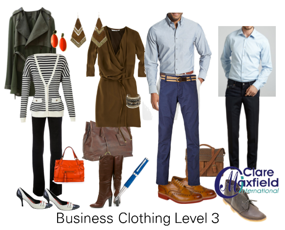 What does Business Smart or Dress Code Level 3 mean?
