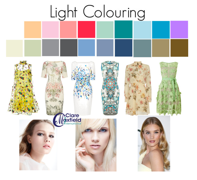 What to do if you have light colouring