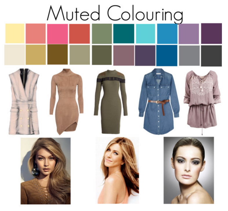 What to do if your colouring is neither warm, cool, light or dark. You are muted.