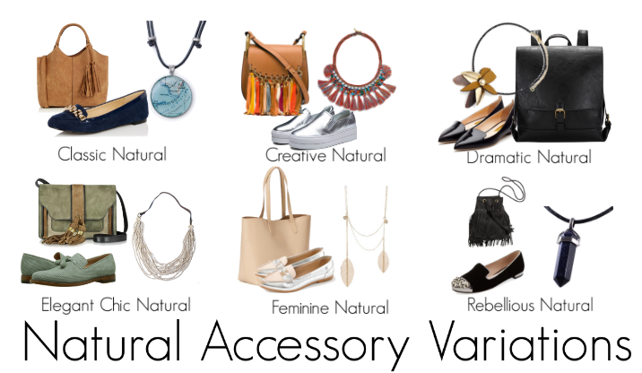 How the Natural woman will wear accessories