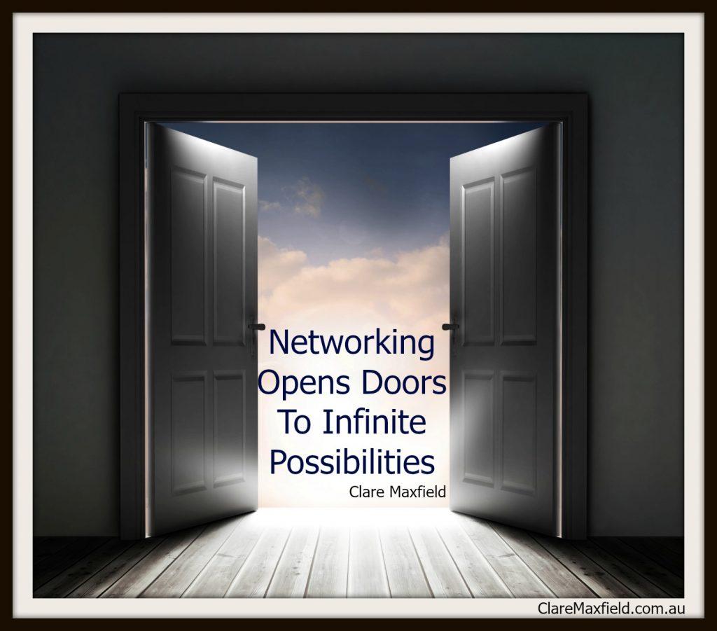 Networking Opens Doors To Infinite Possibilities