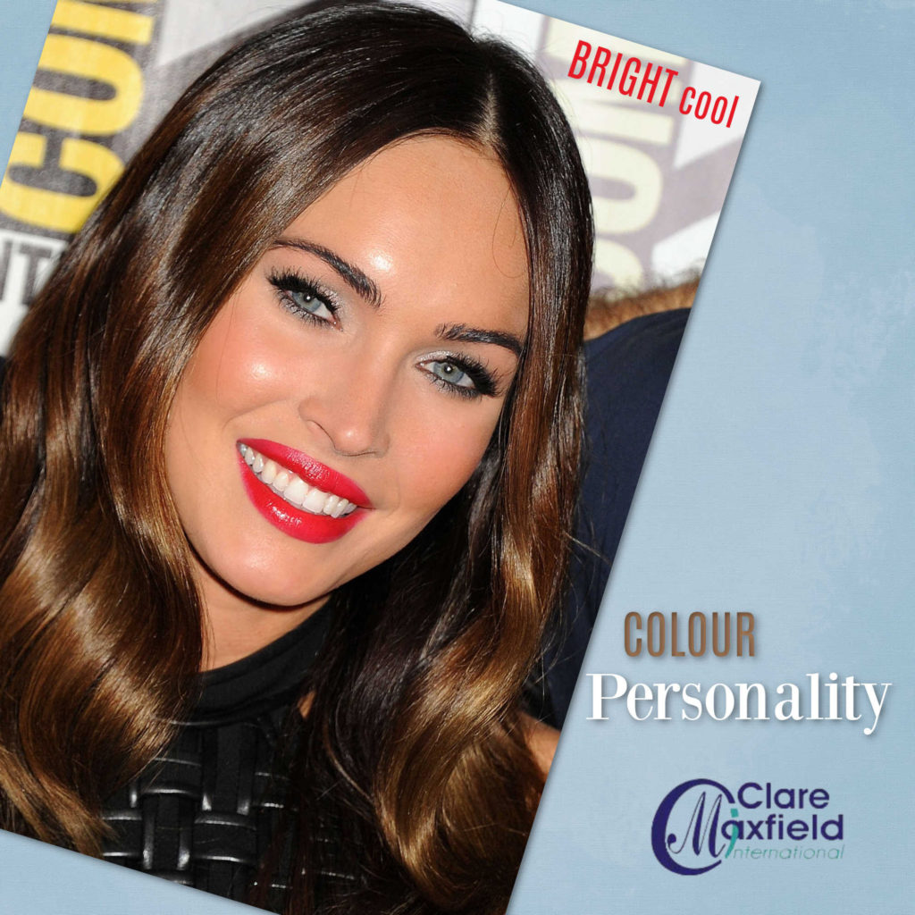 Personality of Cool and Bright Colouring