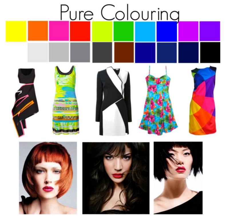What to do if you have pure and clear colouring