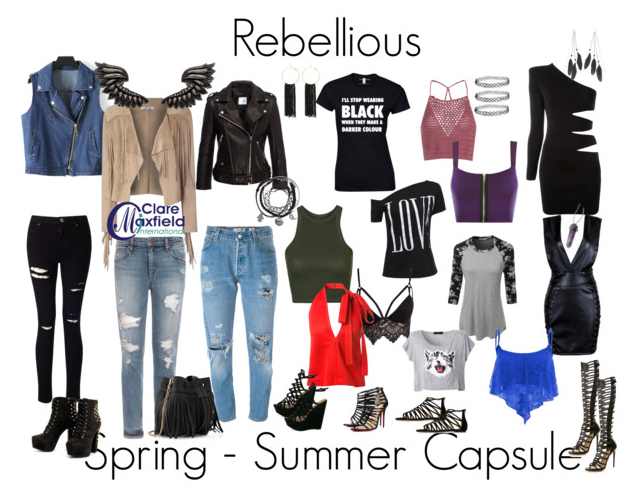 Upcoming Rebellious Personality Style Trend and Capsule Report 2016