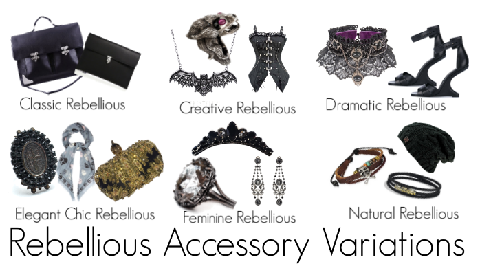 How the Rebellious Woman will Accessorise