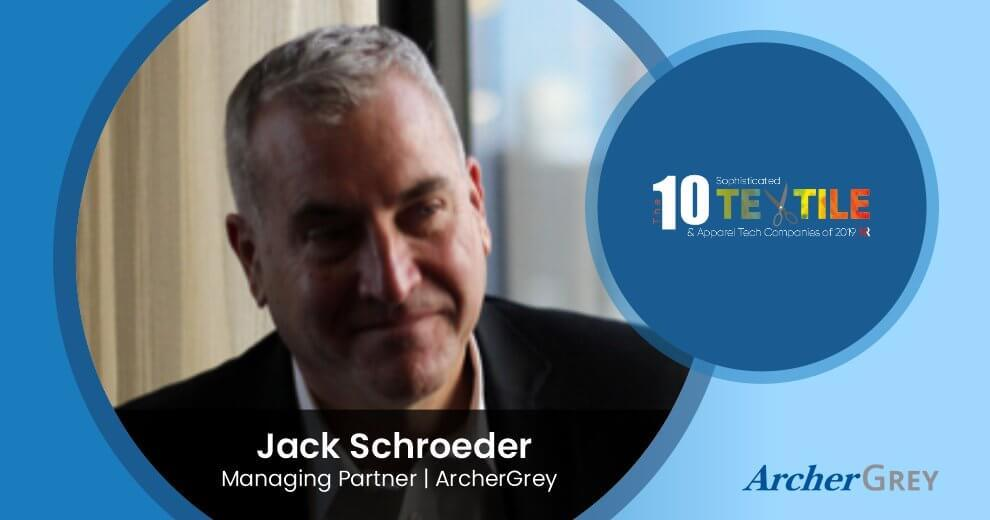 ArcherGrey Named in the Top 10 Sophisticated Textile & Apparel Tech Companies of 2019